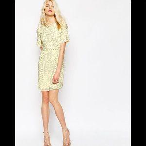 Needle and thread Yellow dress 2